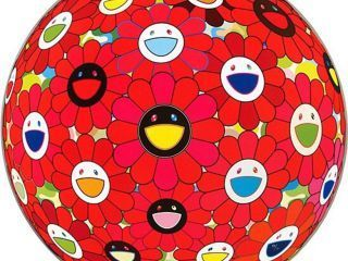 Takashi Murakami, 'Flowerball (3D) - Red Ball', Ode to Art