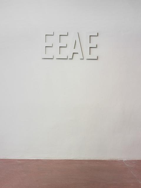 , 'EEAE,' 2015, Dvir Gallery