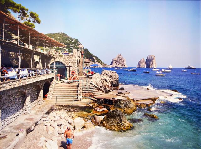 , 'Capri Beach Club,' 2001, Madelyn Jordon Fine Art