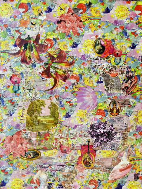 , '... swaying in their reliable finery...,' 2015, Carter Burden Gallery