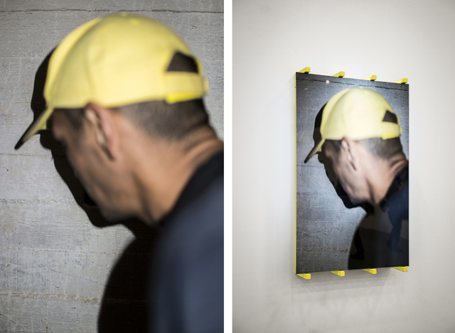 , 'Rachid (Undercover),' 2018, Christine König Galerie