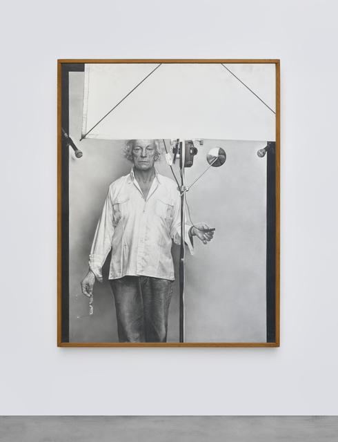 , 'Portrait de Roman Opalka,' 1992-1993, Galerie Christophe Gaillard