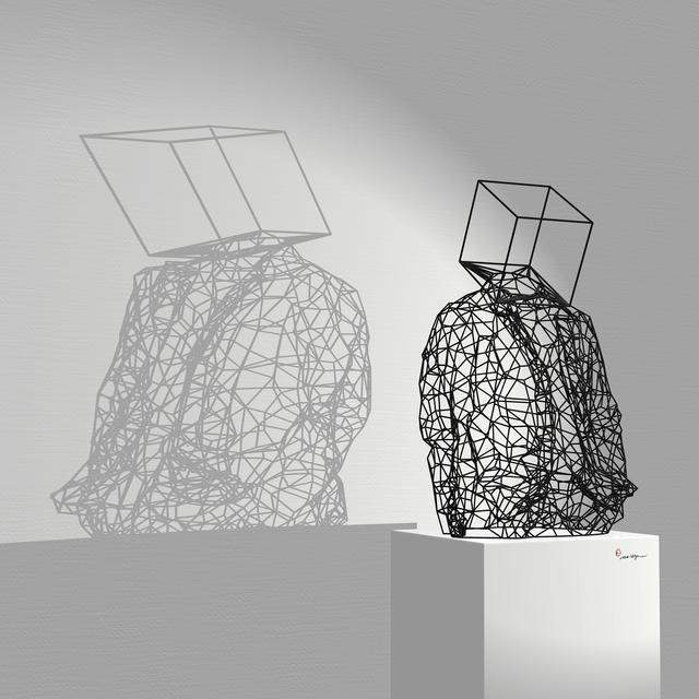 , 'Boxhead ,' 2014, Joerg Heitsch Gallery