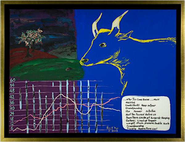 , 'Isaiah II-Quaspace For Cow,' 2002, David Barnett Gallery