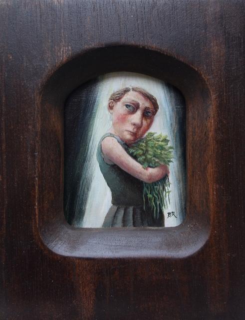, 'Gathering Nettles,' 2017, bo.lee gallery