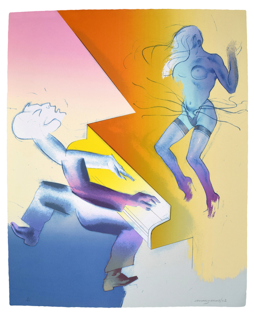 Allen Jones, 'Club Night', 2003, Print, Screenprint printed in colours, Sims Reed Gallery