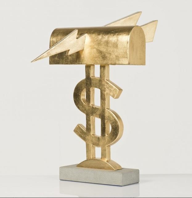 "Lapo Binazzi, '""Dollaro"" Table Lamp', ca. 1981, R & Company"