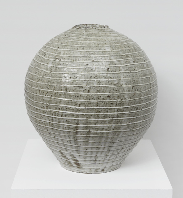, 'Fluted Moon Jar,' 2017, Jane Hartsook Gallery