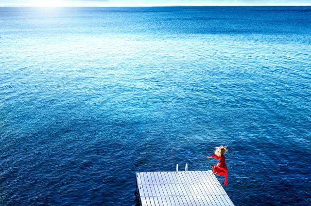 David Drebin, 'Jumping into the Blue', 2016, CAMERA WORK