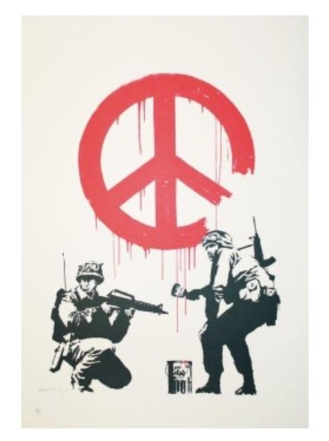 Banksy, 'CND Soliders', 2003, SmithDavidson Gallery