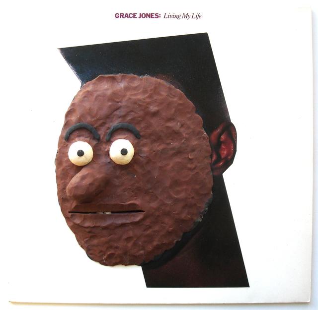 , 'LP, Grace Jones,' 2014, Nicola von Senger
