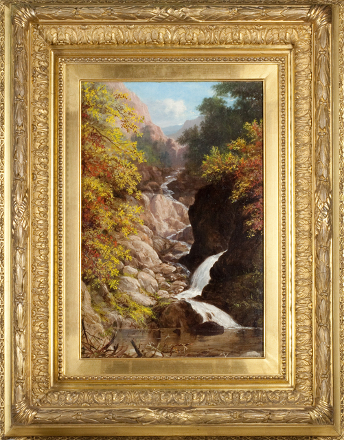 William Rickarby Miller, 'On the Ausable River', Painting, Oil on canvas, Questroyal Fine Art
