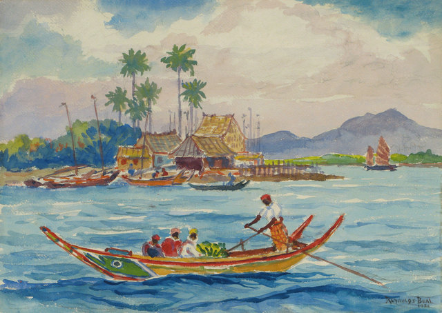 Reynolds Beal, 'Malay Harbor Boat', 1935, Vose Galleries