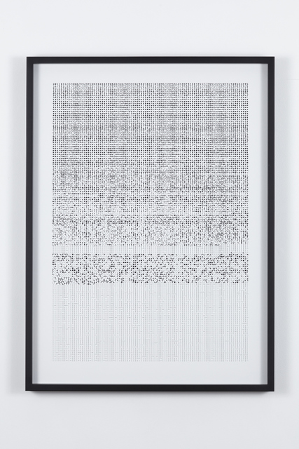 , 'Ultra-deep code,' 2015, HUMO Gallery