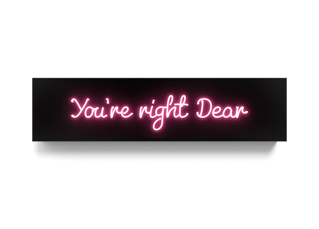 , 'You're right Dear,' 2017, Galerie de Bellefeuille