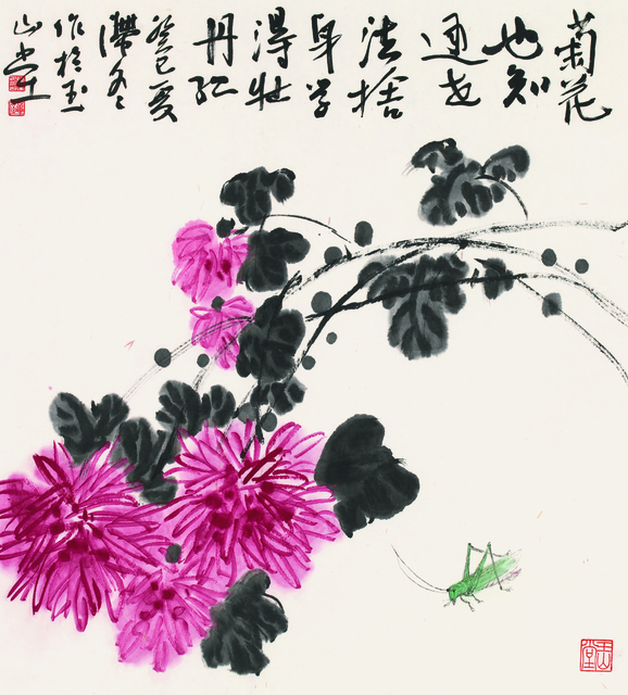 , '菊花秋虫,' 2013, YuShan Tang Gallery