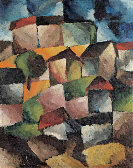 , 'Bergdorf,' 1916, Artvera's Art Gallery