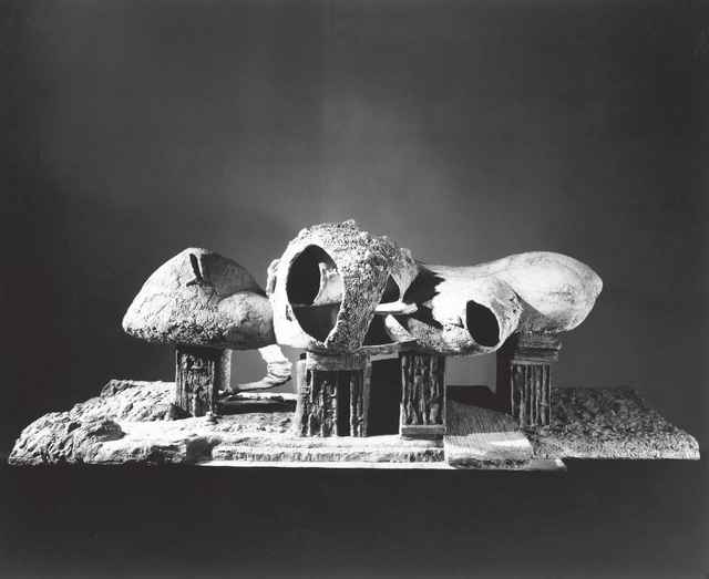 Frederick John Kiesler, 'Endless House (Project, Exterior View of the Model)', 1950-1960, The Museum of Modern Art