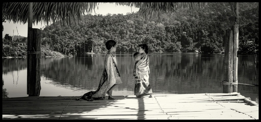 Jahai Children of the Royal Belum National Park, Perak, Malaysia