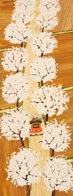 , 'Cherry Blossoms,' 2016, Gallery Jinsun