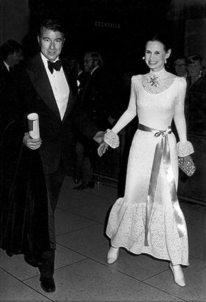 , 'Wyatt Cooper and Gloria Vanderbilt, Evening Tribute to Charlie Chaplin at Philharmonic Hall, New York,' 1972, Staley-Wise Gallery