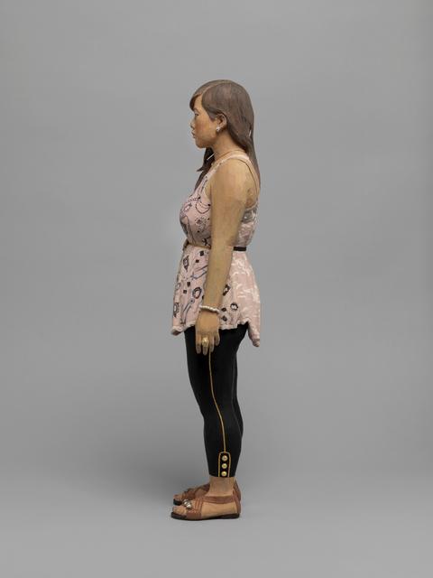 Tomoaki Suzuki, 'Joy', 2010, Sculpture, Lime wood, acrylic paint, leather, SCAI The Bathhouse