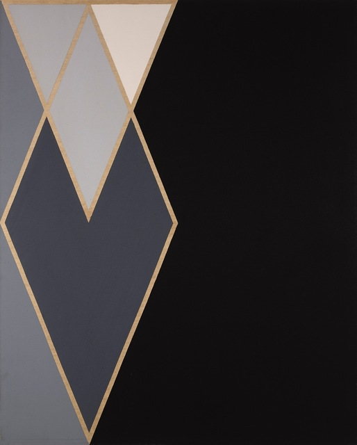 , 'ILLIAC (Diamond Drill Series),' 1967, Berry Campbell Gallery