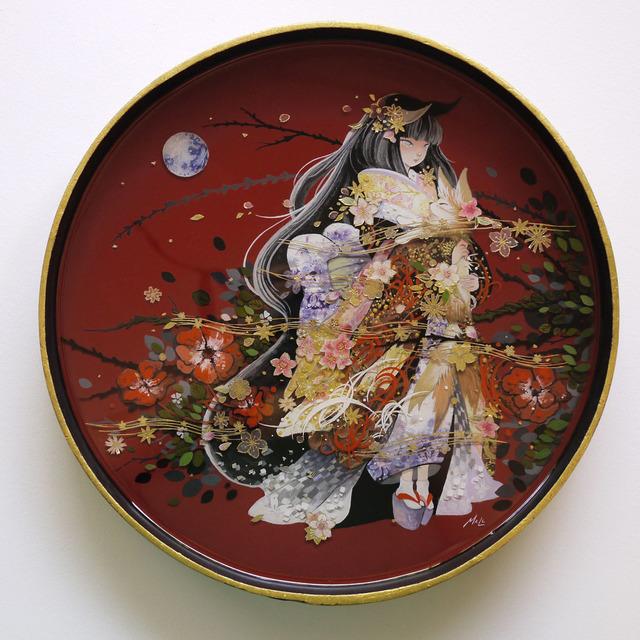 , 'Kitsune Lady,' 2017, Haven Gallery