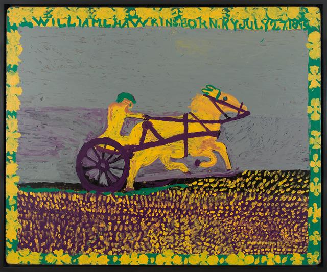 William Hawkins, 'Untitled (Sulky racer)', n.d., Fleisher/Ollman