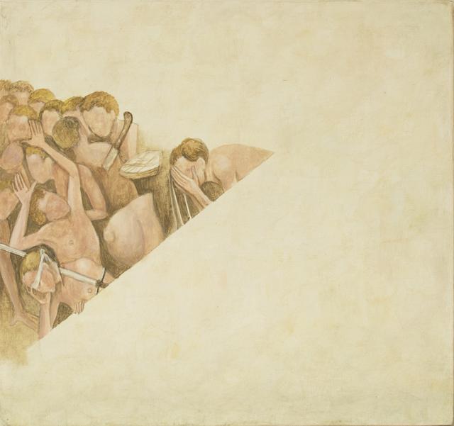 , 'Fragmento XII a partir del trabajo de El Bosco,' 2016, Galería La Caja Negra