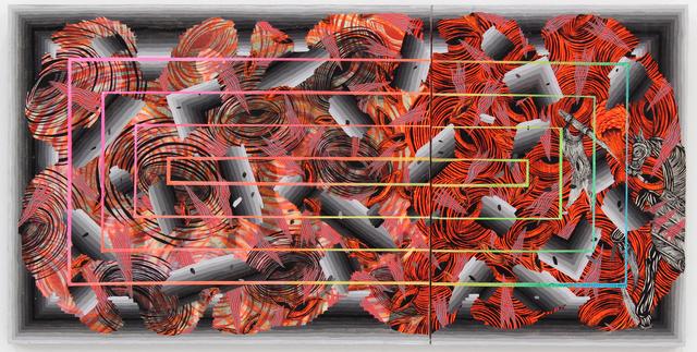 Andrew Schoultz, 'Crisis (Broken)', 2014, Hosfelt Gallery