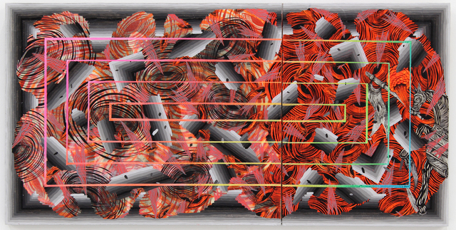 , 'Crisis (Broken),' 2014, Hosfelt Gallery
