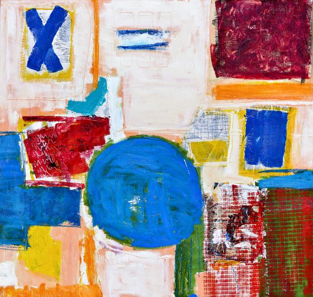 , 'Yellow press ,' 2018, l'artiste gallery
