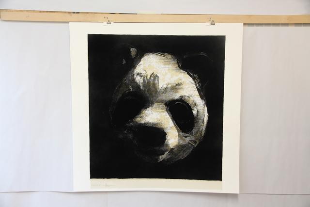 , 'Flocked Panda Head,' 2018, Jealous Gallery