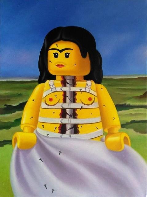 Broken Column Frida Khalo CANVAS or PRINT WALL ART