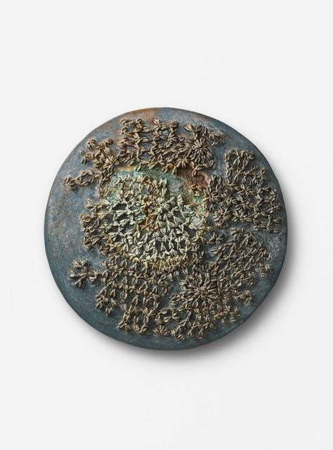 "Johan Creten, '""Wargame Tondo X""', 2016-2017, Leila Heller Gallery"