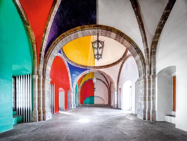 , 'Hospicio Cabañas Capilla Tolsá from Daniel Buren work in situ Guadalajara I 2015,' , Sean Kelly Gallery