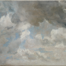 , 'Cloud Study,' ca. 1822, The Frick Collection