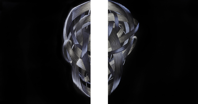 , 'gespalten,' 2016, Artdepot