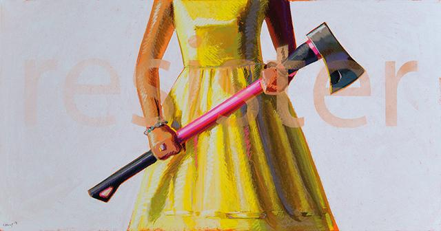, 'Resister,' 2018, Lyndsey Ingram