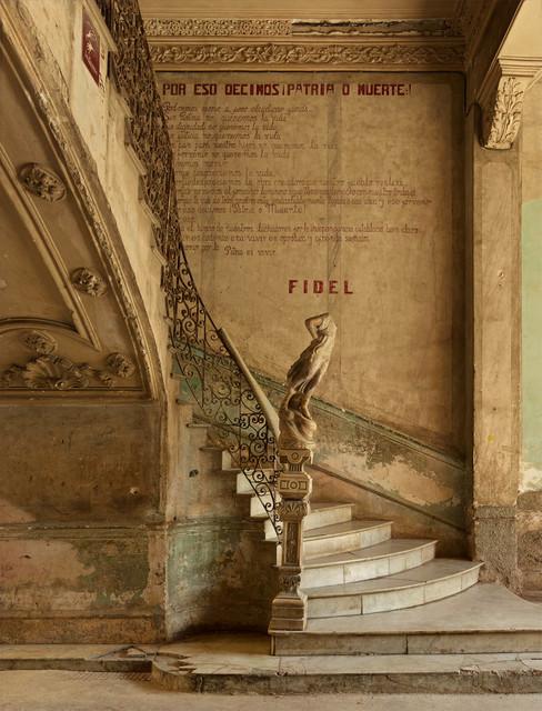 , 'Fidel's Last Stairway, Havana,' 2014, Edwynn Houk Gallery
