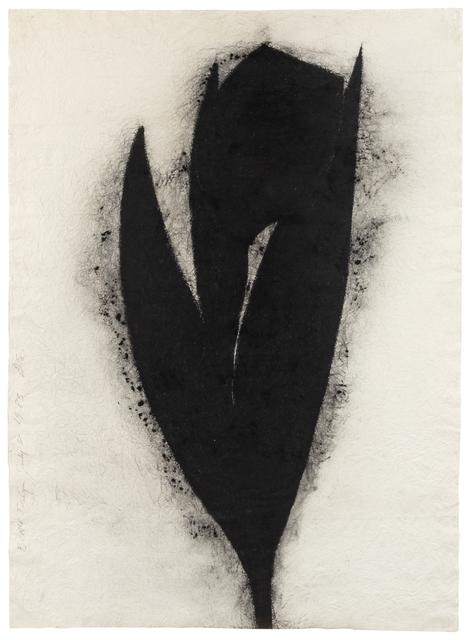 Donald Sultan, 'Black Tulip', 1983, Hindman