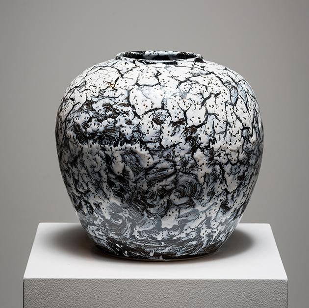 , 'White Vase,' 2015, Galerie Dutko