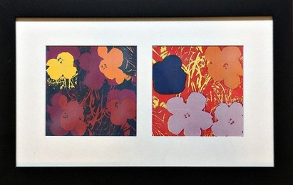 Flowers (Two Individual Silkscreens)