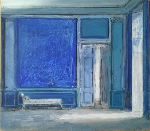 , 'The Blue Room ,' 2017, Purdy Hicks Gallery