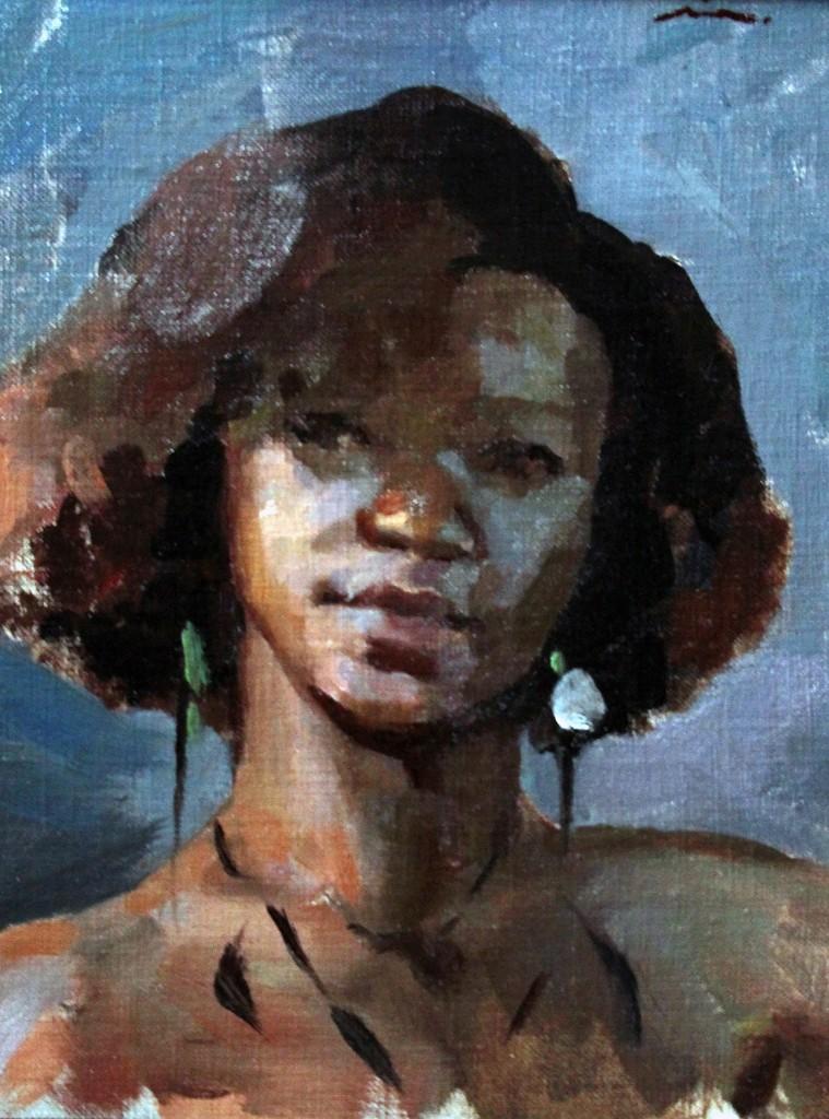Mia Bergeron, 'Sketch of Sheila,' 2014, Gallery 1261
