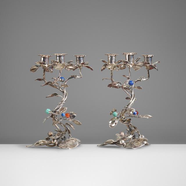 Gabriele De Vecchi, 'Candelabra, Pair', c. 1990, Wright