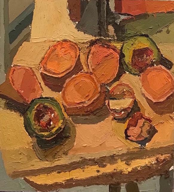 , 'Still Life with Avacado and Avacado Seeds,' 2003, Mark Borghi Fine Art