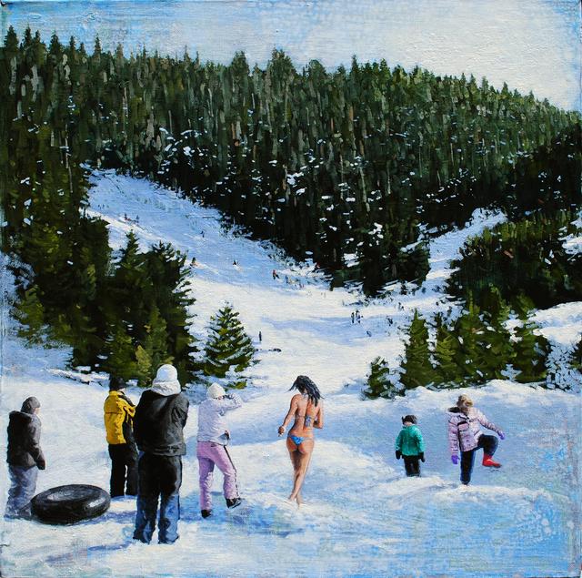 , 'PRESENTIMENT - MELT,' 2012, Judy Ferrara Gallery