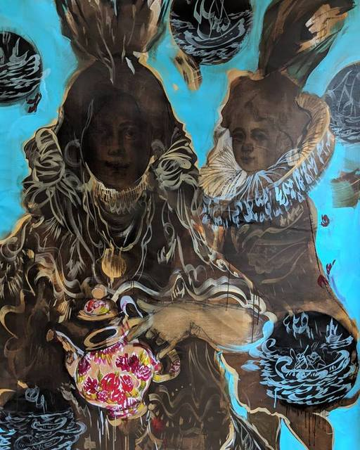 Scherezade García, 'Tales from this side of the Atlantic: Manhattana', 2018, Praxis